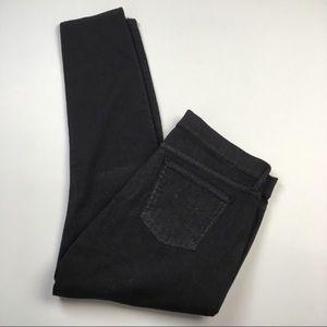 NWOT GAP High Waist Metallic Skinny Legging Jeans
